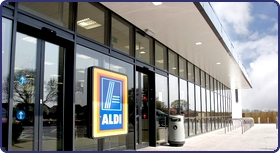 New lighting for Aldi Stores